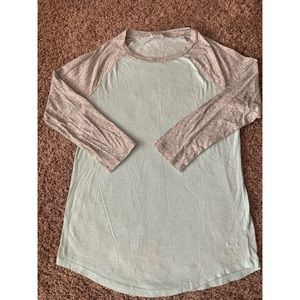 Victoria's Secret PINK baseball t-shirt